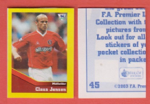 Charlton Athletic Claus Jensen Denmark 45 UBL
